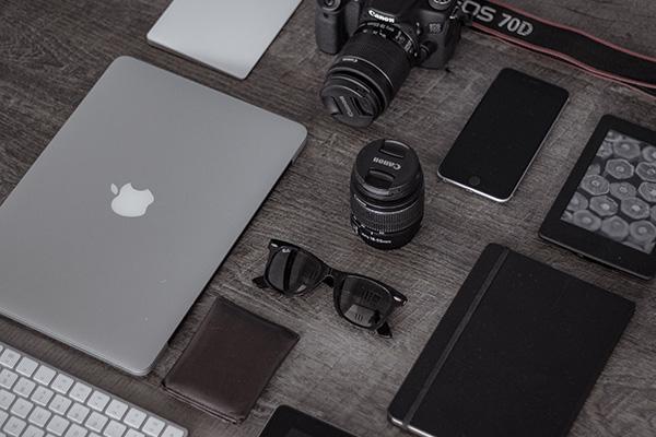 カメラやmacbook