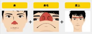 顔全体オプション